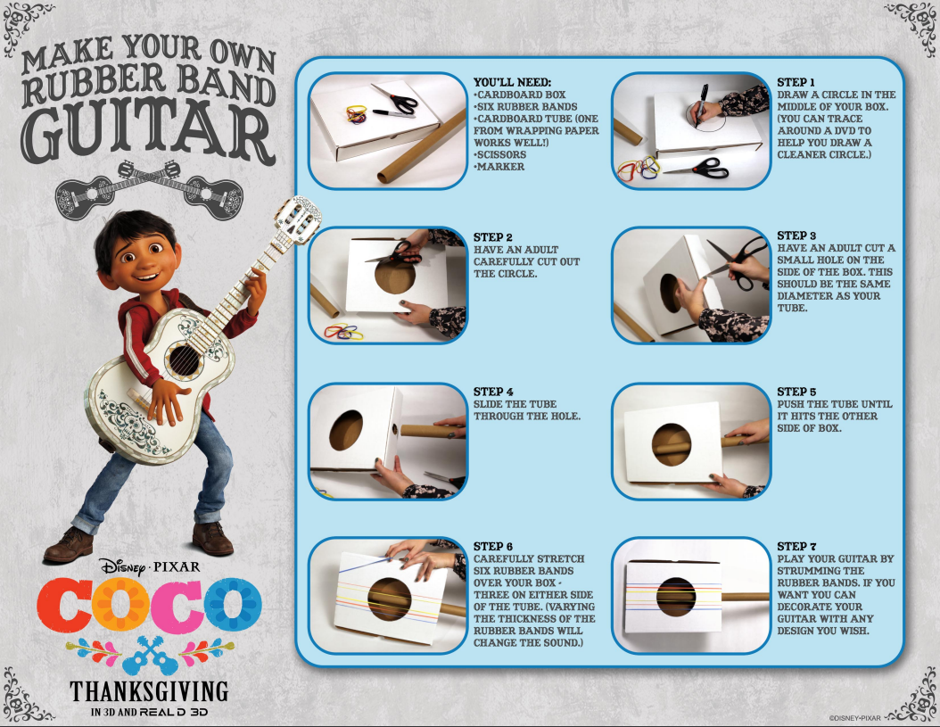New Activity Pages from Disney•Pixar\'s COCO - #PixarCoCo -