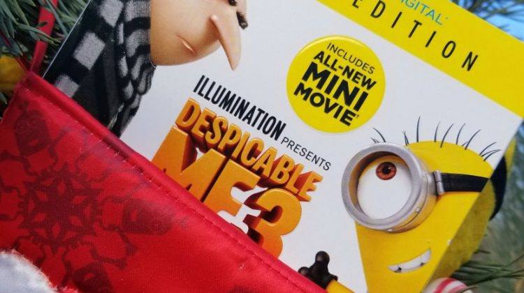Despicable Me 3- The Ultimate Fun-Loving Stocking Stuffer #DespicableMe3 #DM3family #ad