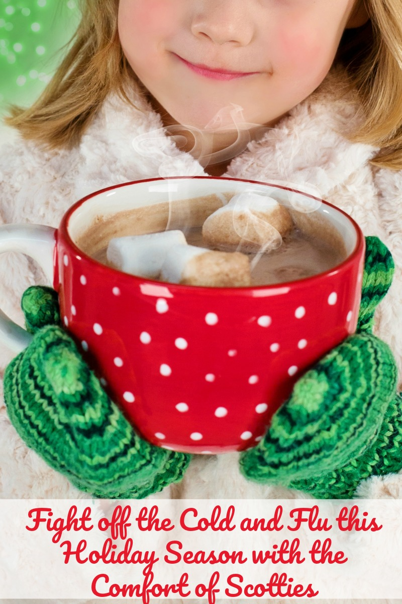 Fight off the Cold and flu with the comfort of Scotties