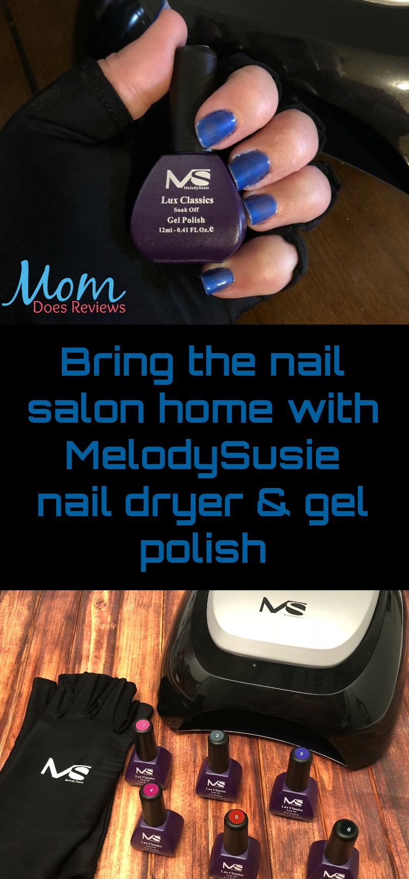 MelodySusie Gel Nail Polish Products Brings the Nail Salon Home ...