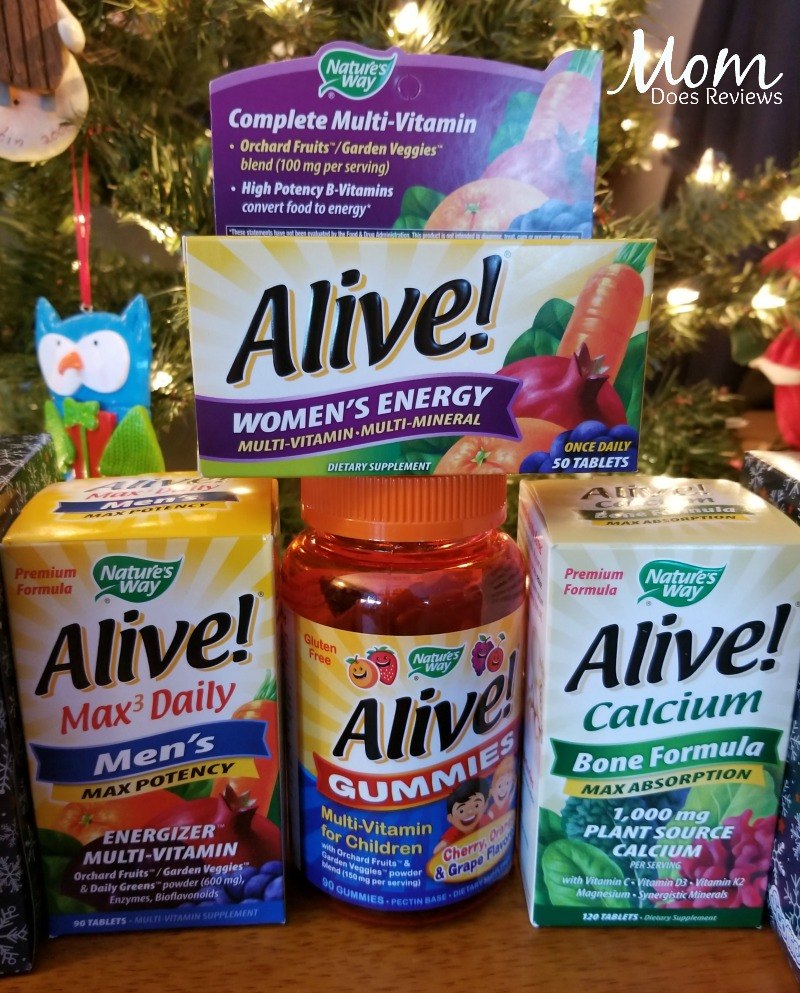 Nature's Way Alive Vitamins for the Whole Family