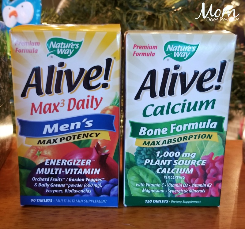 Nature's Way Alive Bone formula and Men's daily