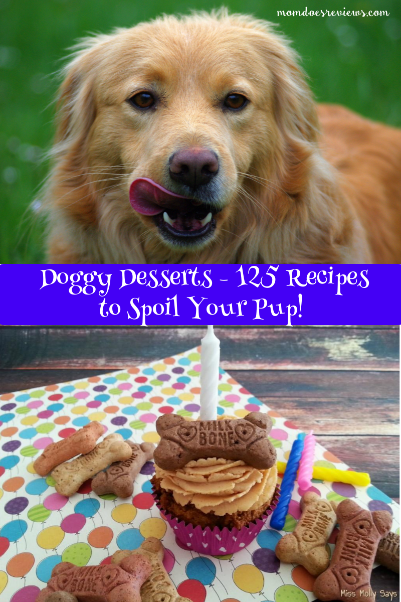 Doggy Desserts- 125 recipes to Spoil your pup!