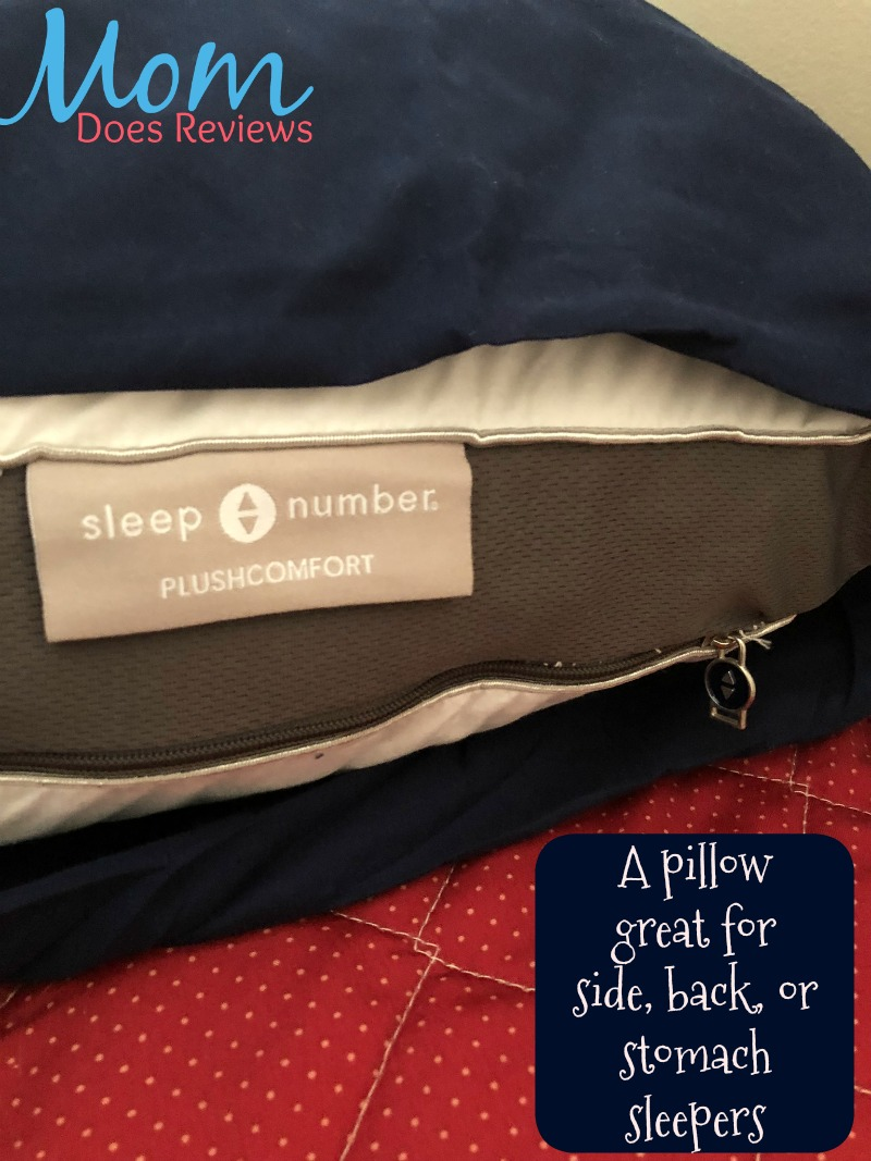 Sleep Number Plushcomfort Ultimate Pillow For Anyone On