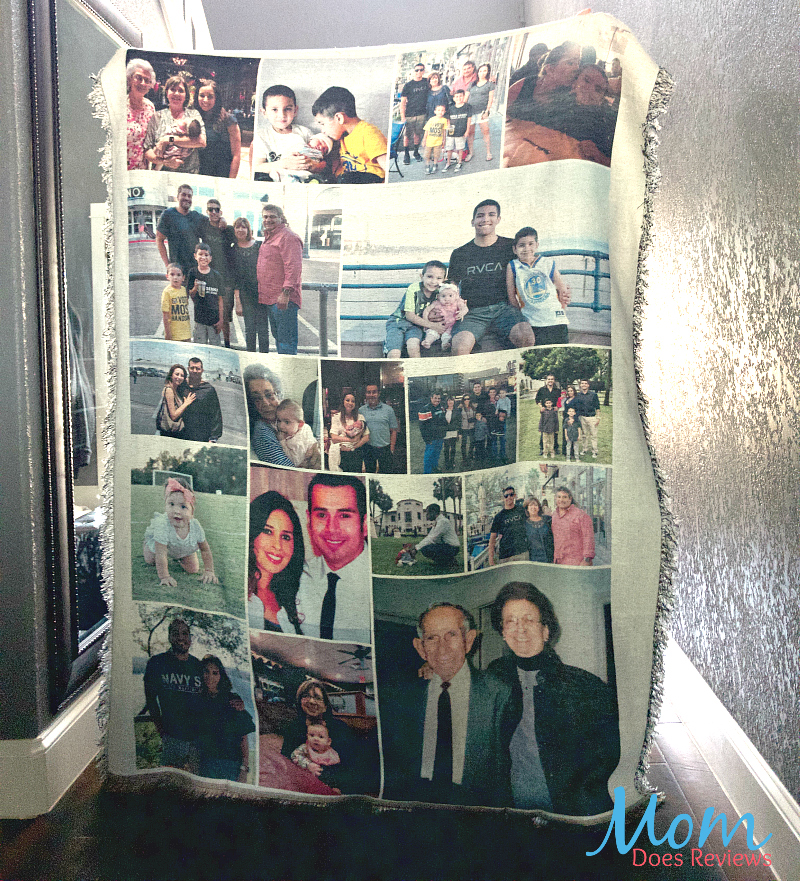 the best gift a collage blanket