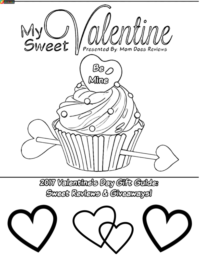 FREE Valentine's Day Coloring Pages! #Sweet2018 -