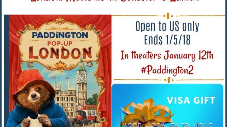#Win $50 Visa GC and Paddington Collectors Pop-up Book! #Paddington2 #WbSponsored