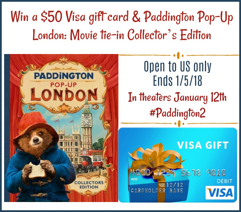 Paddington 2 Giveaway