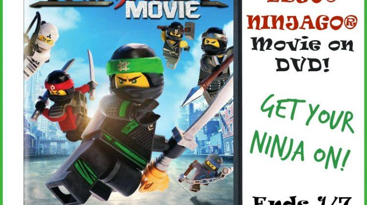 Get Your Ninja On with the The LEGO® NINJAGO® Movie! #Win the DVD too!  #LEGONINJAGOMovie