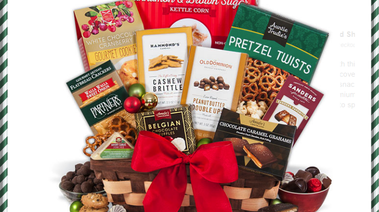 Win GourmetGiftBasket for Christmas