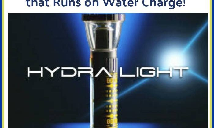 #Win a HydraLight- powered by Water Charge, US ends 12/18