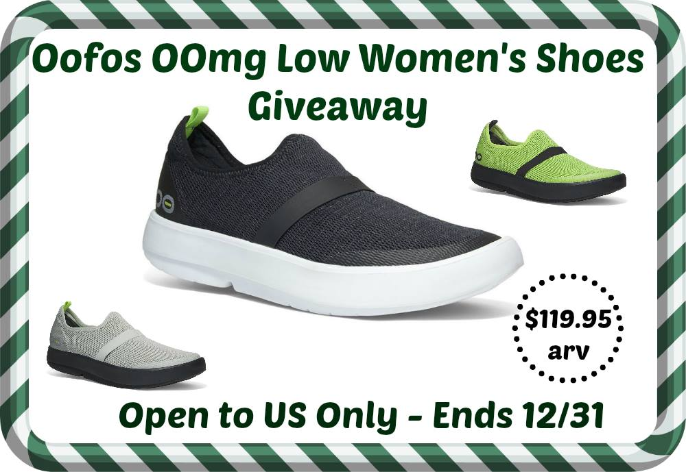 Win Oofos Oomg Shoes Make Your Feet Happy Us Ends 12 31