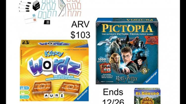 #Win FIVE Ravensburger Games – US Only – Ends 12/26