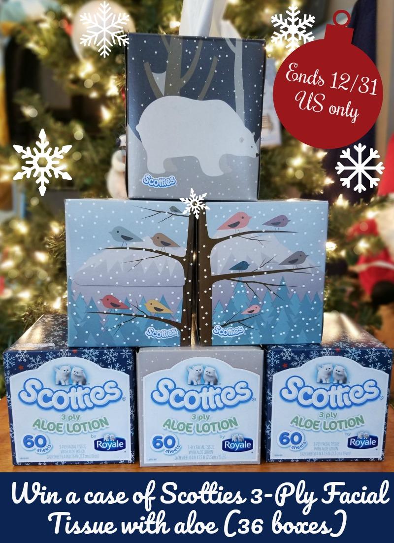 Win Scotties Tissues