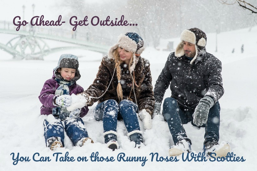 Take on those Runny Noses with Scotties