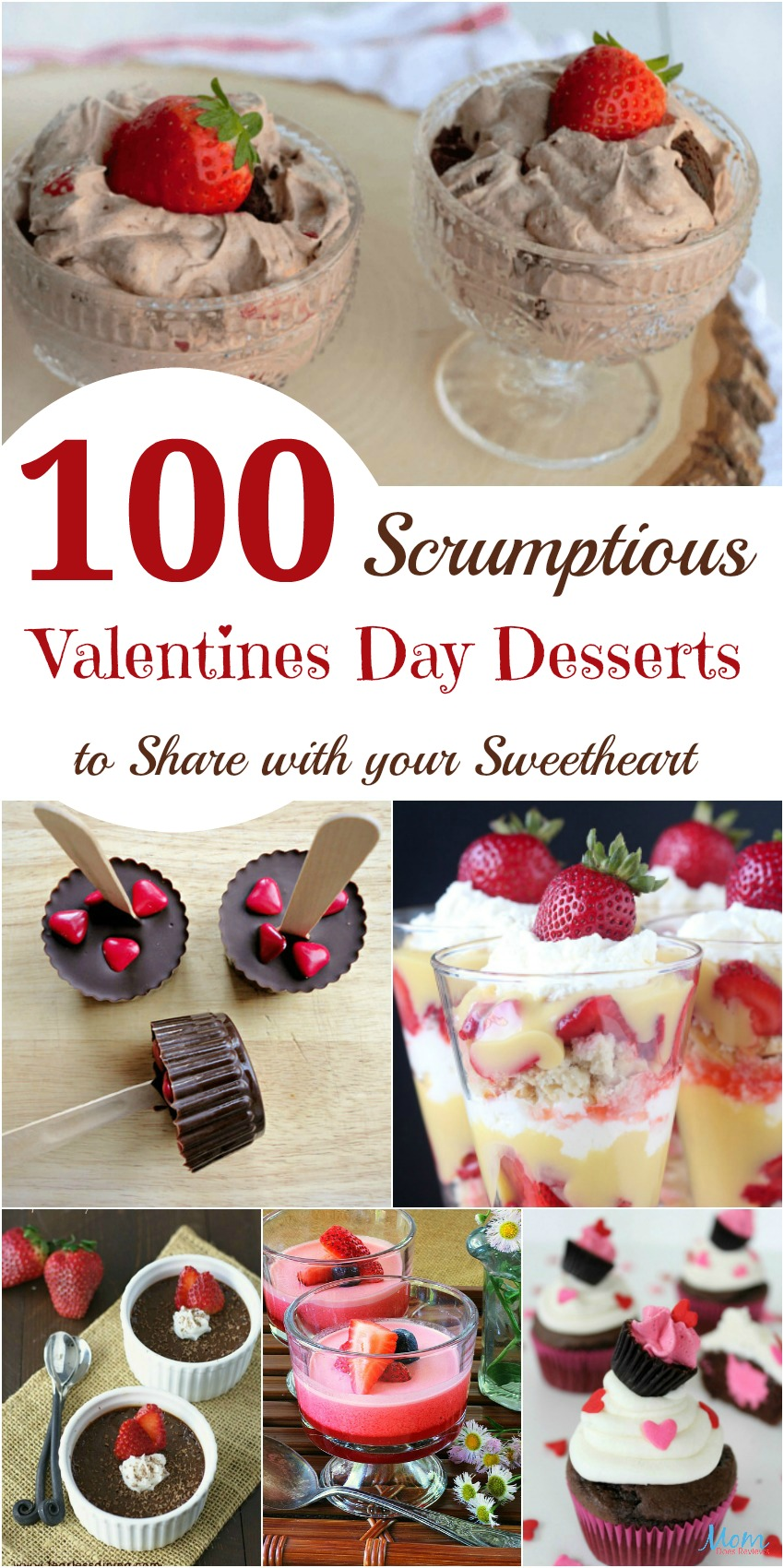 100 Scrumptious Valentines Day Desserts to Share with your Honey banner