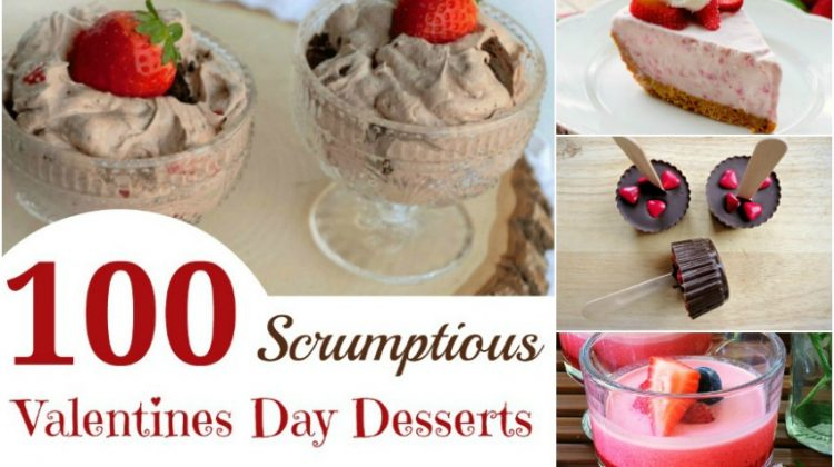 100 Scrumptious Valentines Day Desserts to Share with your Sweetheart
