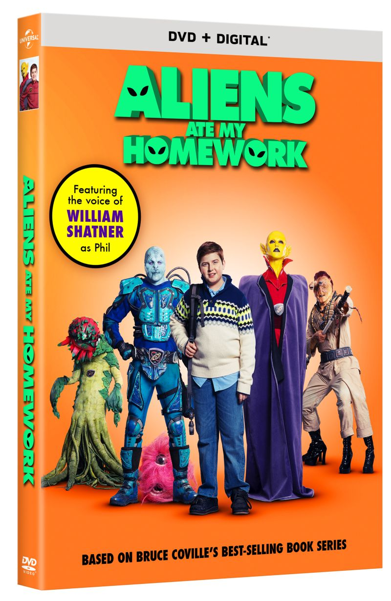 Aliens ate my Homework DVD