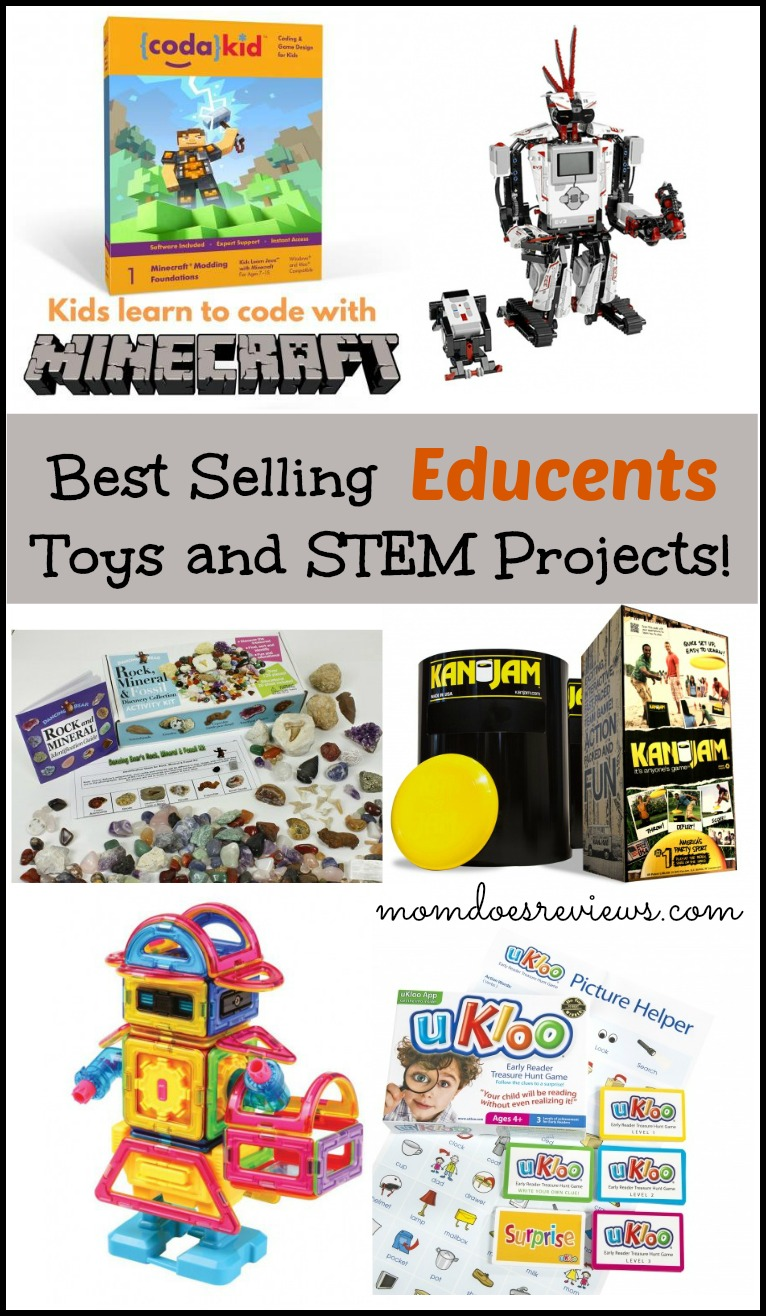 Best Selling Educents Toys and STEM #educents #affiliate #ad