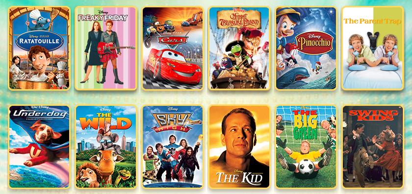 Disney Family Movie Titles