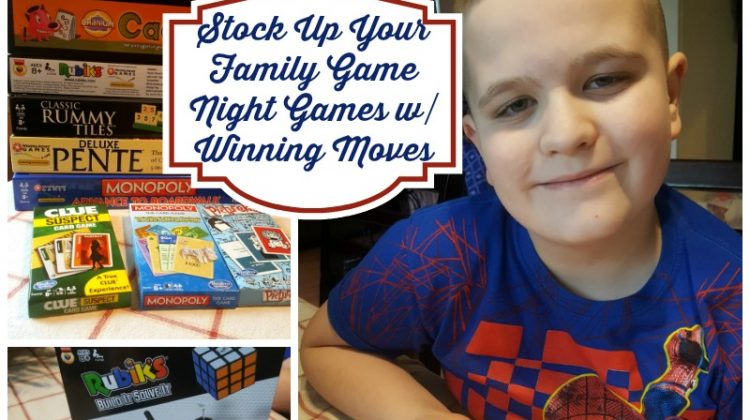 Family Game Night Games with Winning Moves