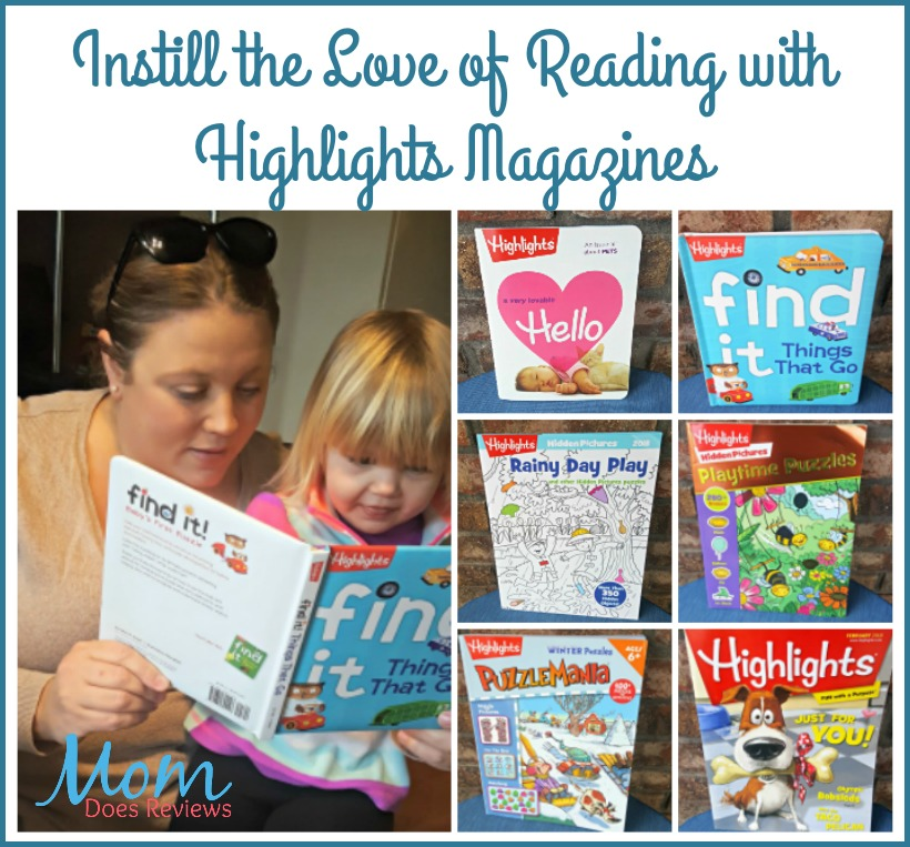Instill the Love of Reading with Highlights Magazines