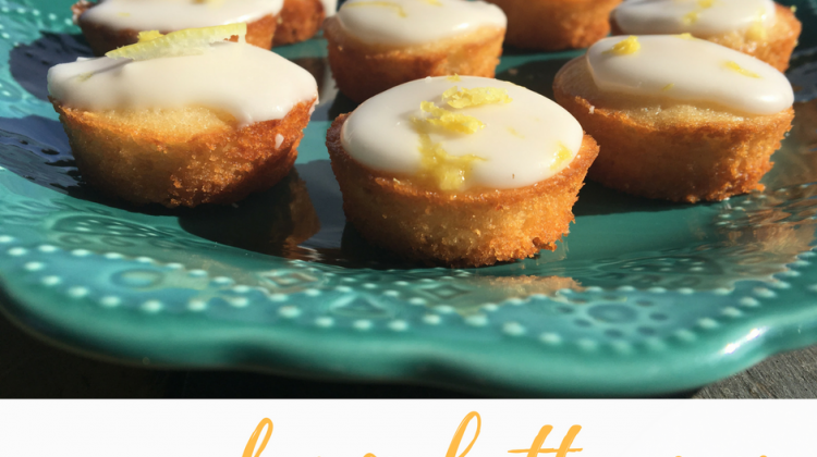 Day 13 of our 14 Days of #ValentinesSweets – Pucker Up Lemon Mini Cupcakes