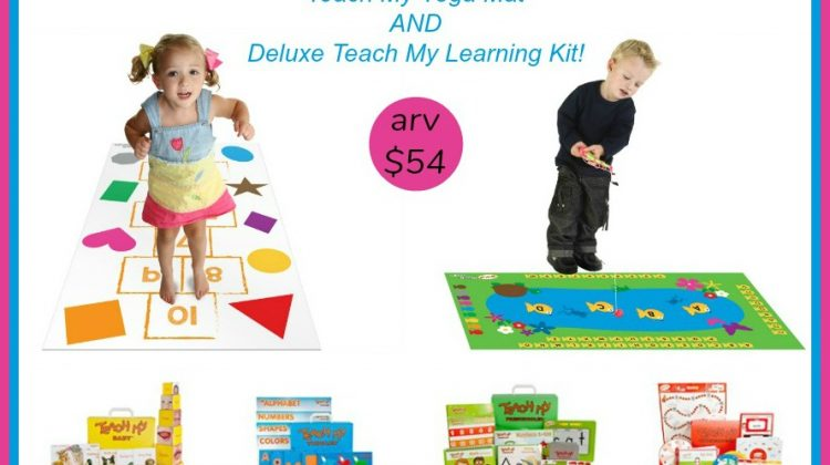 Win Teach My Prize Pack (arv $54)! US Ends 1/25
