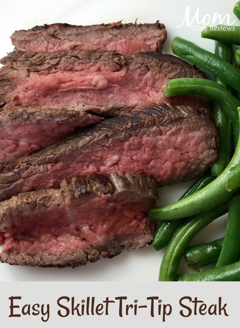 Easy Skillet Tri-Tip Steak #Recipe