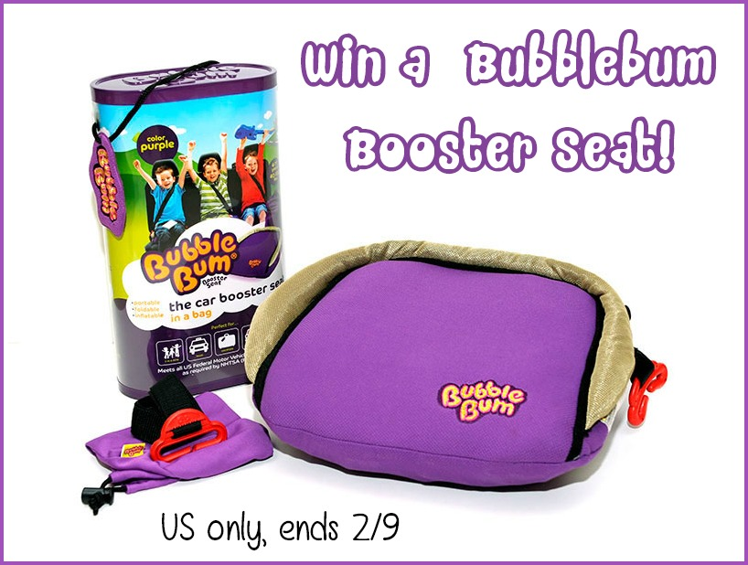 Win Bubble Bum Booster Seat