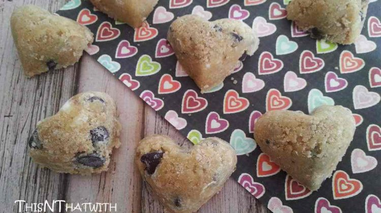 Day 10 of our 14 Days of #ValentinesSweets –  Cookie Dough Hearts