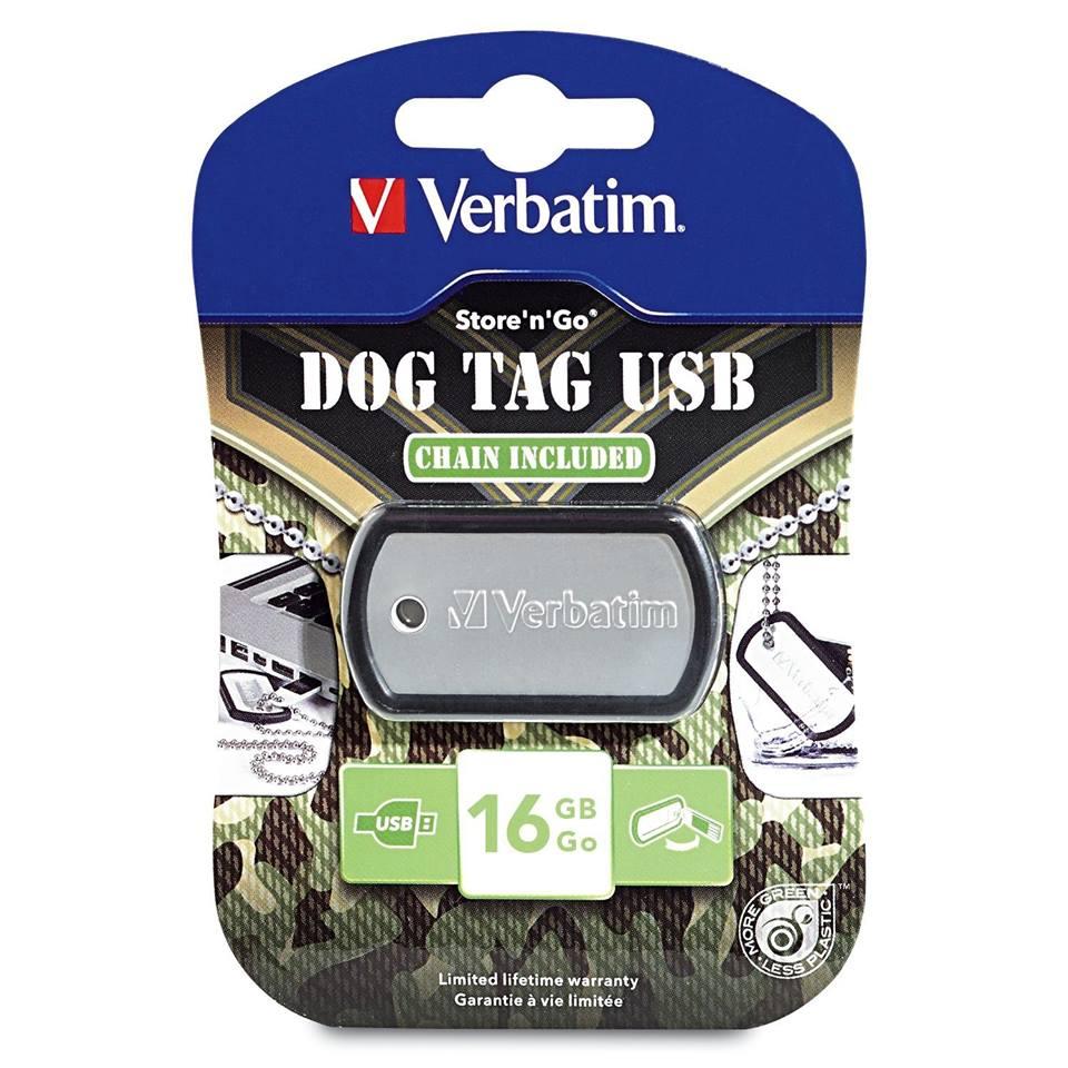 Dog tag USB