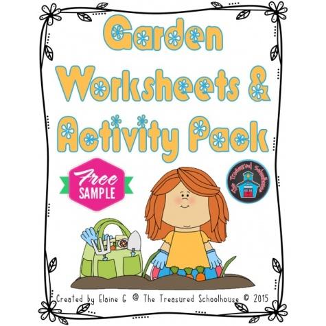 garden worksheet