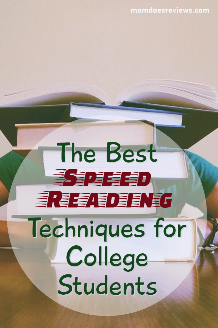 The Best Speed Reading Techniques for College Students