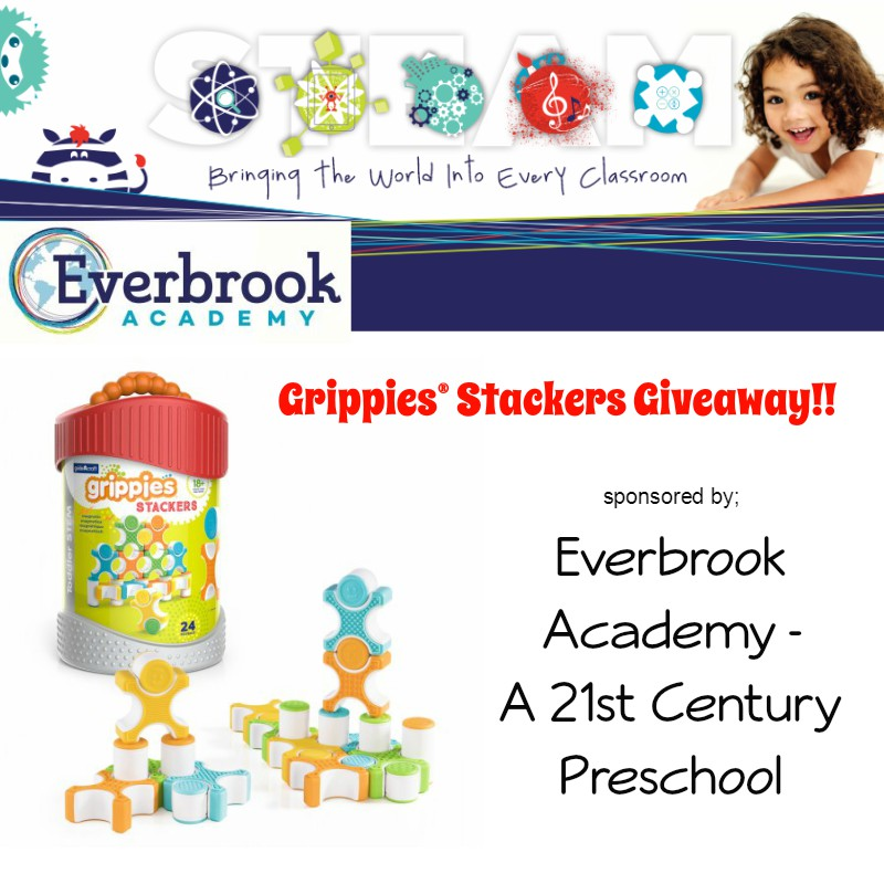 Grippies® Stackers (24 Pieces) Giveaway. Valued at $60. Sponsored by Everbrook Academy