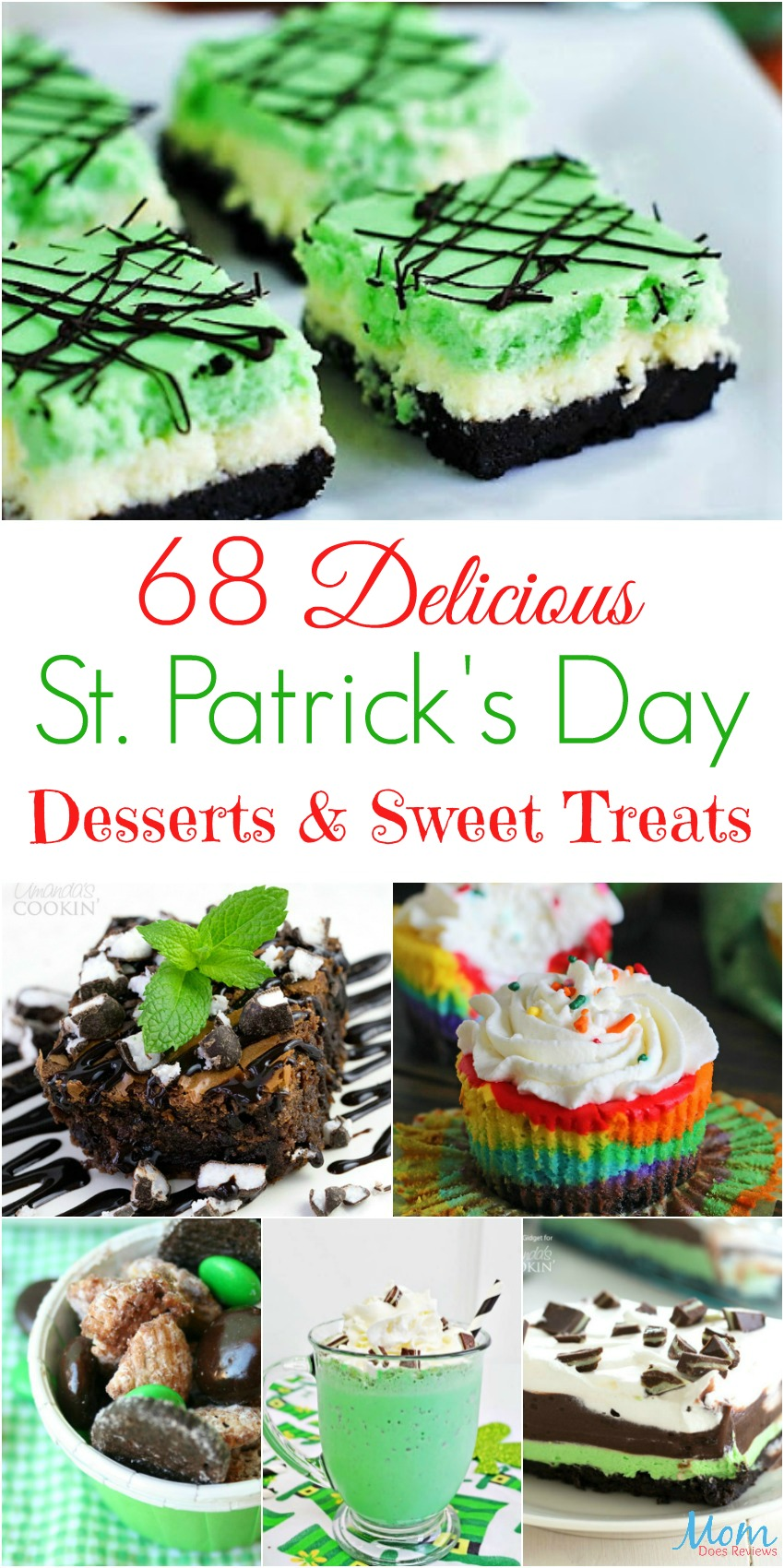 68 Delicious St. Patrick's Day Desserts & Sweet Treats