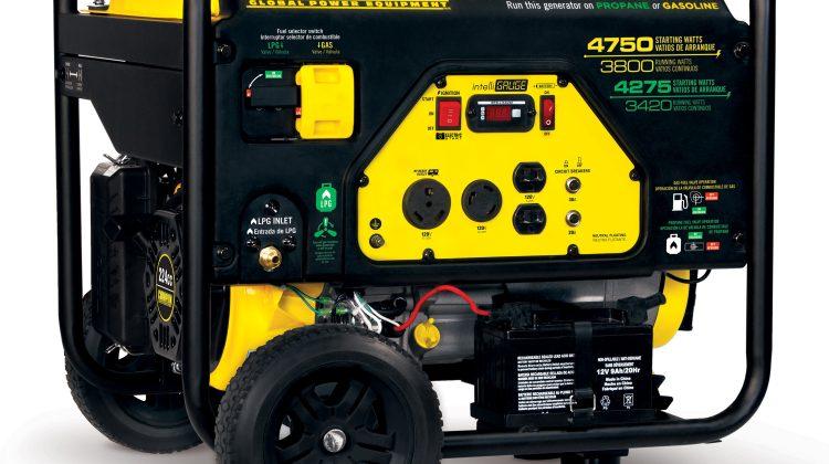 Chamption Dual Fuel Generator