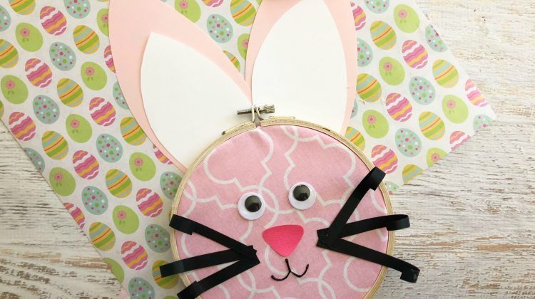 Day 2 of our #EasterSweetsandTreats – Easter Bunny Loop Craft