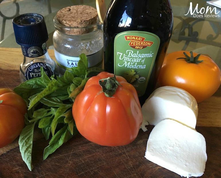 Caprese Ingredients