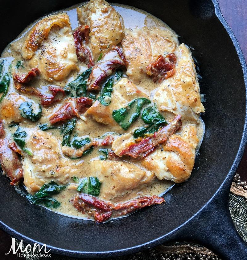 Chicken with Pecorino Cream Sauce