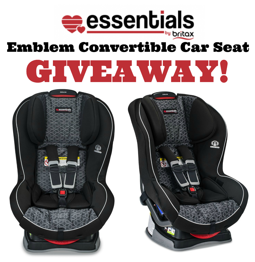 essentials by britax emblem car seat giveaway us ends 2 22. Black Bedroom Furniture Sets. Home Design Ideas