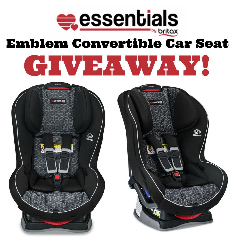 Essentials Emblem Car seat giveaway