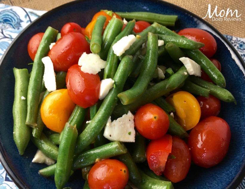 Green Bean Salad with Tomatoes & Feta