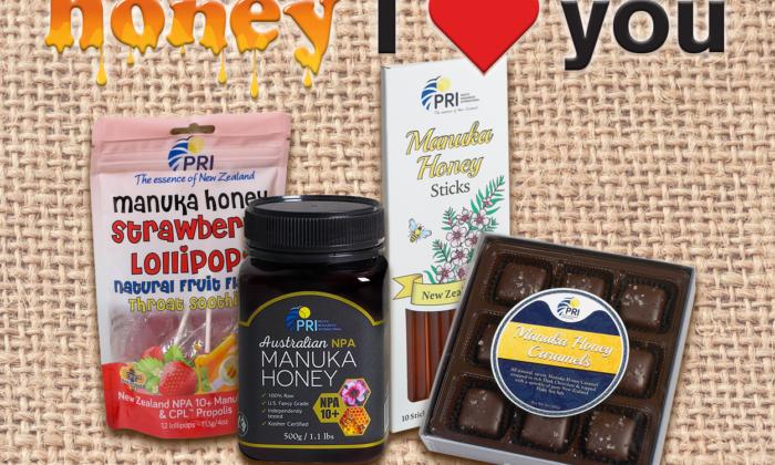 Enter to #Win a Honey I Love You Manuka Honey Prize Pack #ShopPRI #ManukaHoney