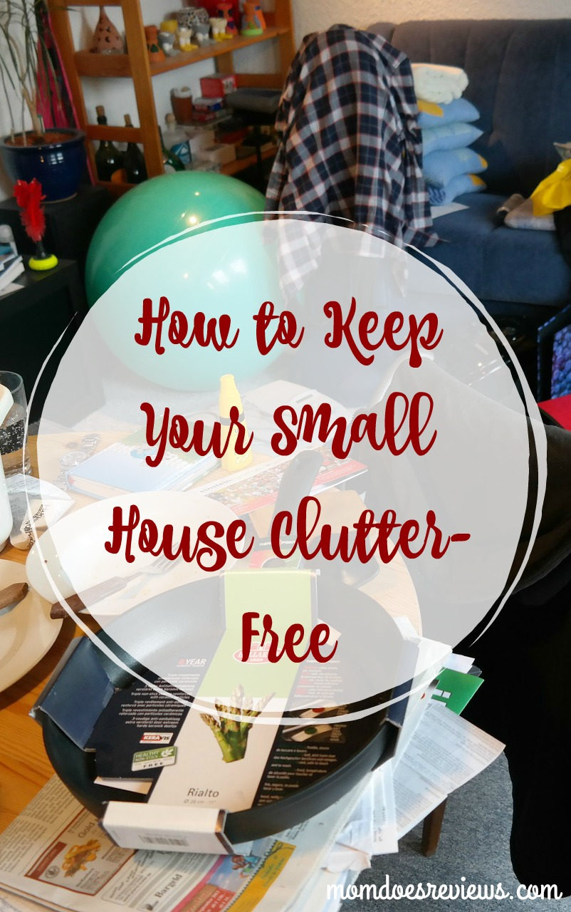 How to Keep Your Small House Clutter-Free