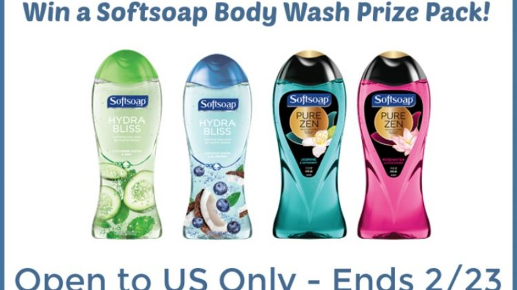 Enter to #Win a SoftSoap Body Wash Prize Pack – US Only – Ends 2/23
