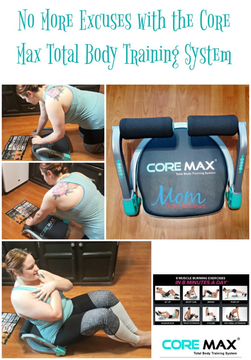 No More Excuses with the Core Max Total Body Training System