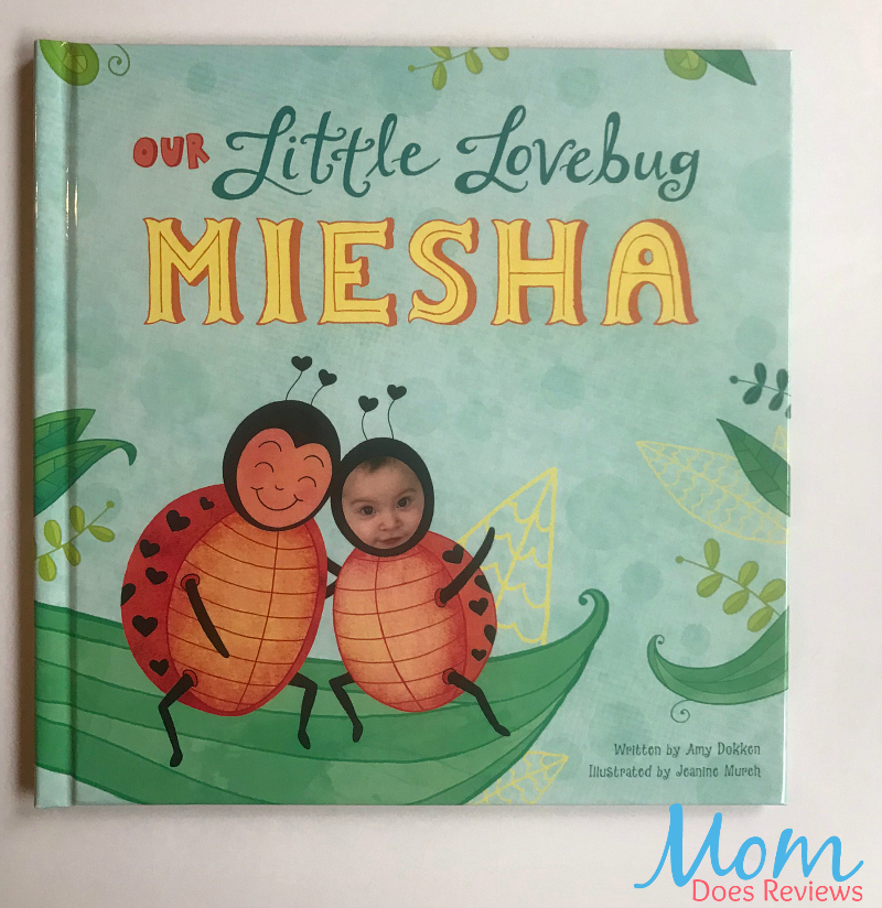 Our Little Lovebug I See Me personalized book review