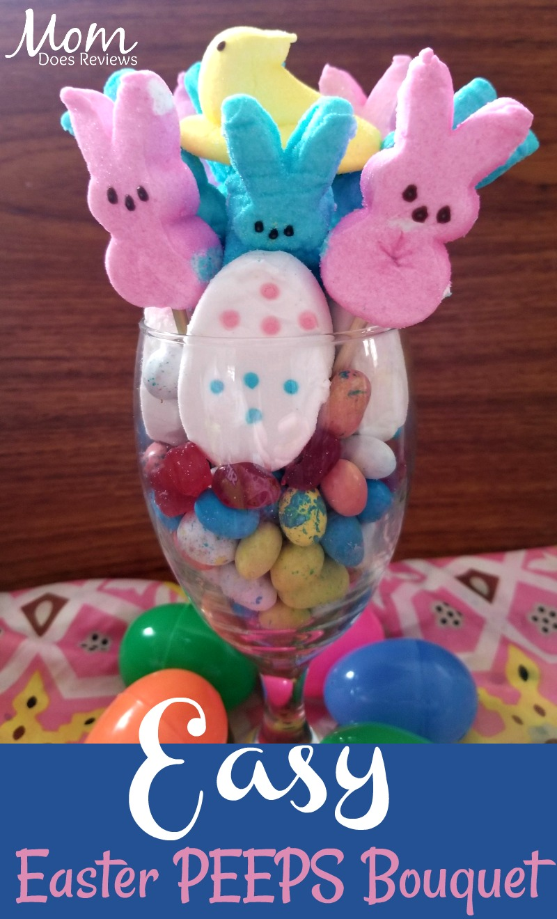 Easy Easter PEEPS Bouquet #EasterSweetsandTreats