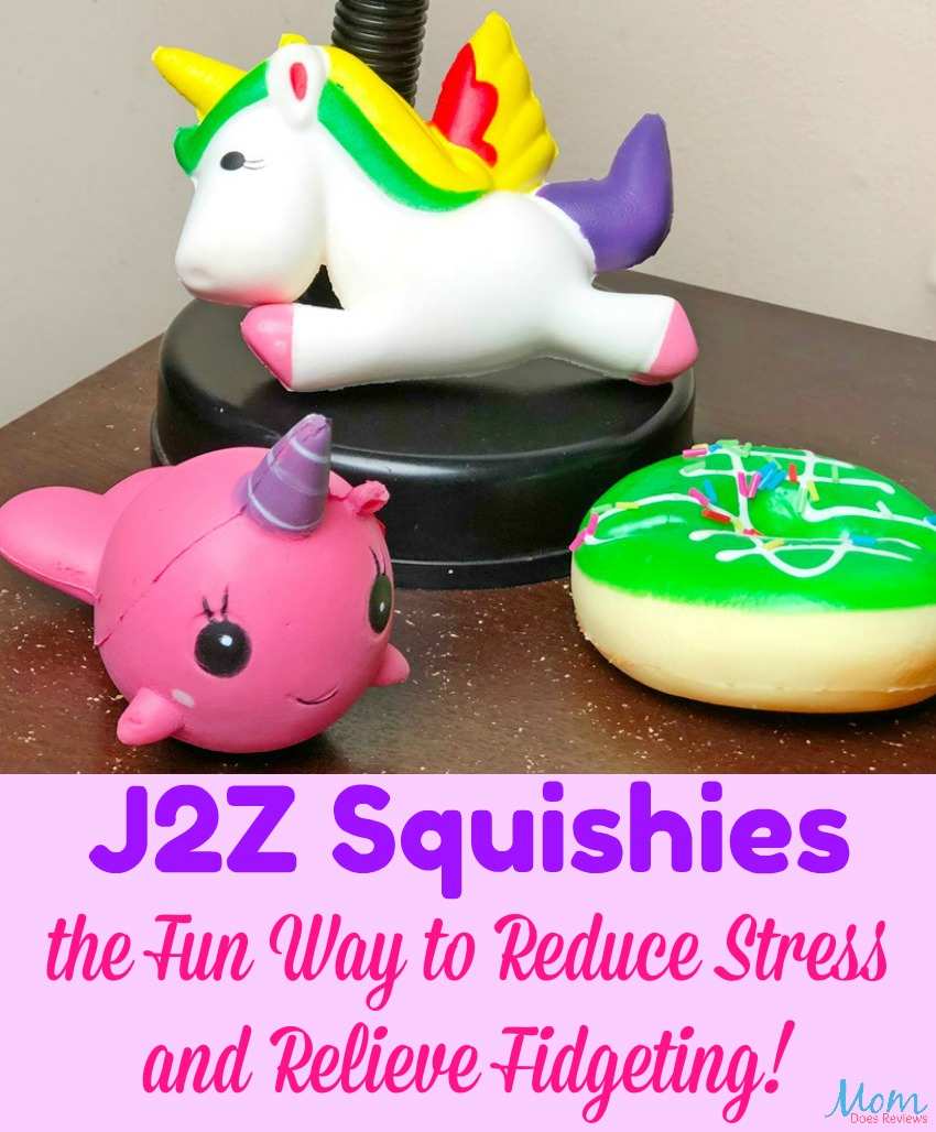 J2Z Squishies are the Fun Way to Reduce Stress and Relieve Fidgeting!
